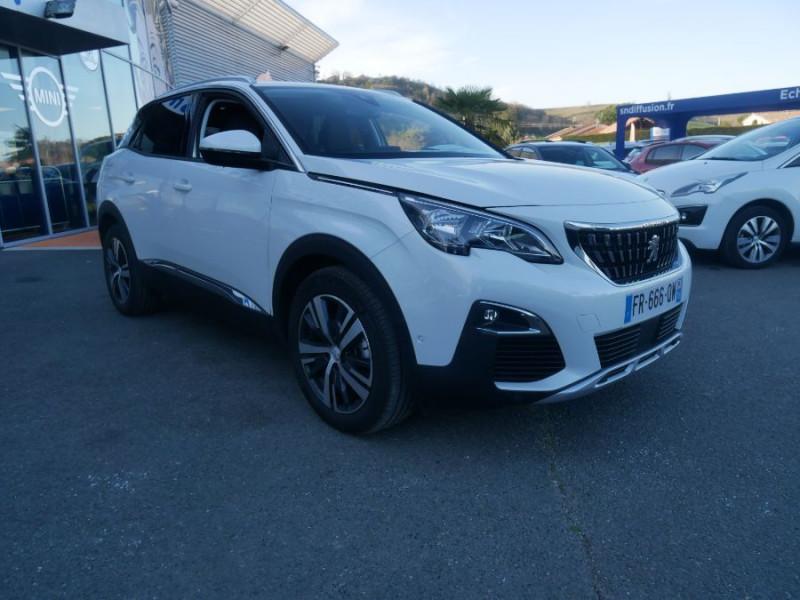 Peugeot 3008 BlueHDi 130 EAT8 ALLURE Hayon Barres Drive Assist Blanc occasion à Carcassonne - photo n°17