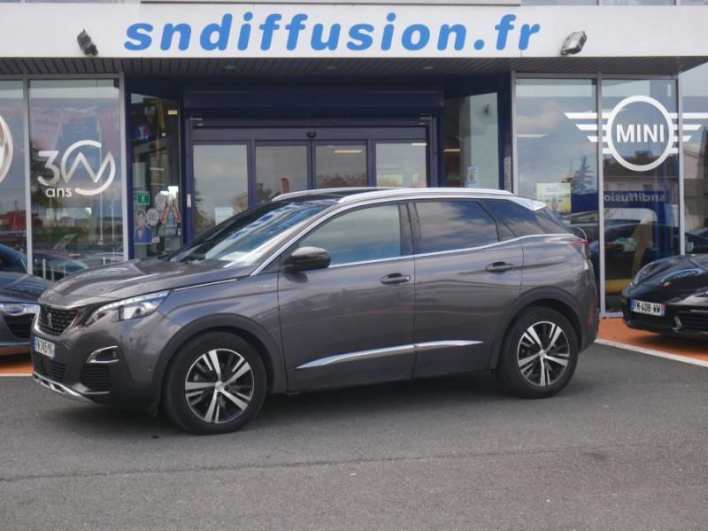 Peugeot 3008 BlueHDi 130 EAT8 GT Line Hayon Barres Toit Gris occasion à Lescure-d'Albigeois