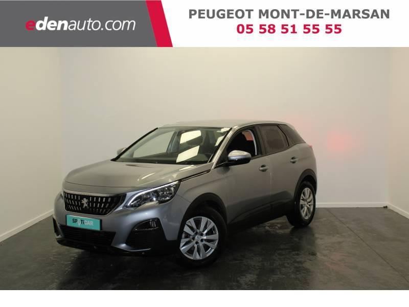 Peugeot 3008 BlueHDi 130ch S&S BVM6 Active Business Gris occasion à Saint-Pierre-du-Mont