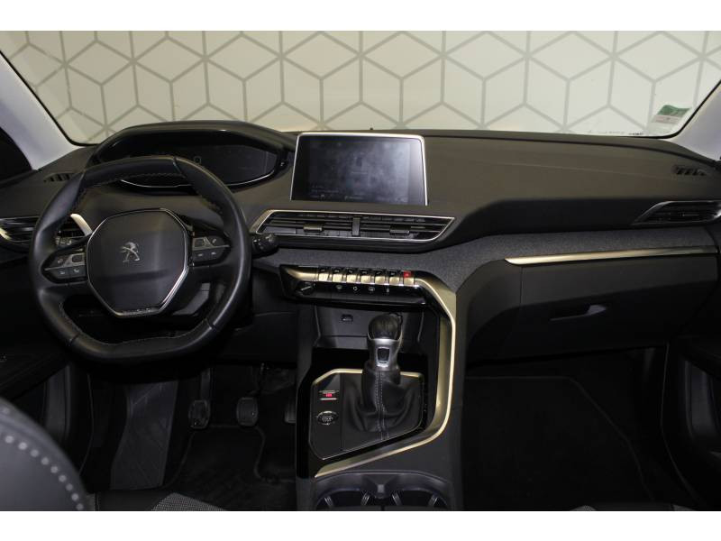 Peugeot 3008 BlueHDi 130ch S&S BVM6 Allure Blanc occasion à TARBES - photo n°4