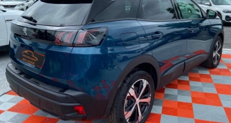 Peugeot 3008 BlueHDi 130ch SS EAT8 Allure Bleu occasion à GASSIN - photo n°3