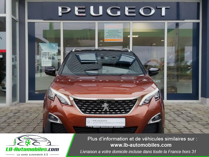 Peugeot 3008 GT Line 1.6 THP 165 Marron occasion à Beaupuy - photo n°4