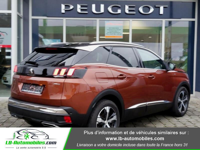 Peugeot 3008 GT Line 1.6 THP 165 Marron occasion à Beaupuy - photo n°3
