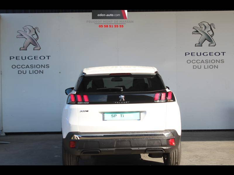 Peugeot 3008 Puretech 130ch S&S EAT8 Active Business Blanc occasion à Saint-Pierre-du-Mont - photo n°4