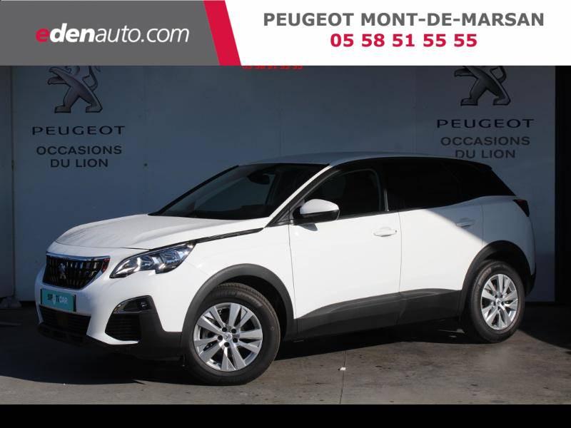 Peugeot 3008 Puretech 130ch S&S EAT8 Active Business Blanc occasion à Saint-Pierre-du-Mont