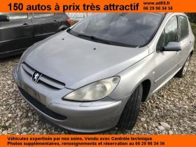 Peugeot 307 Gris, garage VOITURE PAS CHERE RHONE ALPES à Saint-Bonnet-de-Mure