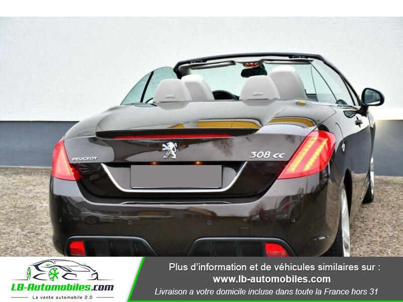 Peugeot 308 CC 1.6 THP 156ch A Marron occasion à Beaupuy - photo n°3