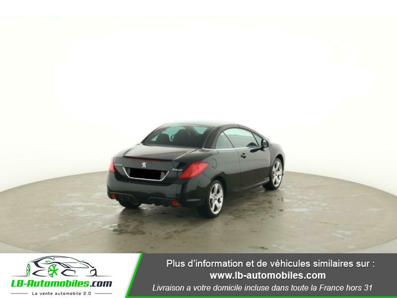 Peugeot 308 CC 1.6 THP 156ch Noir occasion à Beaupuy - photo n°3