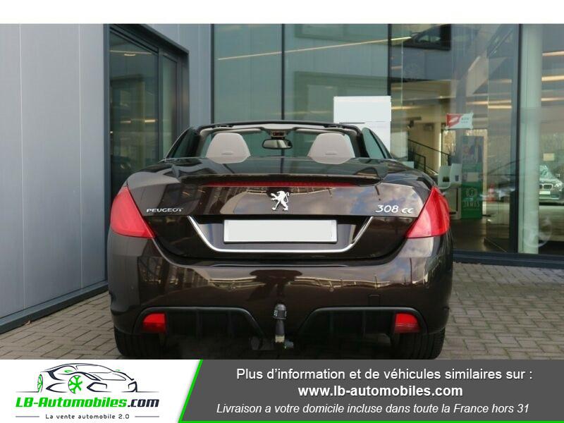 Peugeot 308 CC 1.6 THP 16V 156ch / Féline Marron occasion à Beaupuy - photo n°12