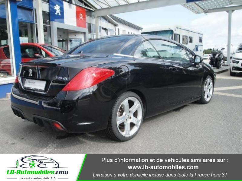 Peugeot 308 CC 2.0 HDi 163ch FAP Noir occasion à Beaupuy - photo n°3