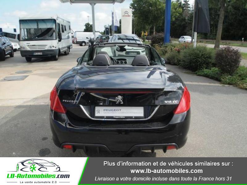 Peugeot 308 CC 2.0 HDi 163ch FAP Noir occasion à Beaupuy - photo n°11