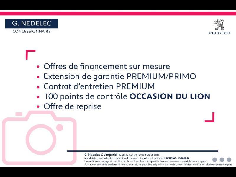 Peugeot 308 SW 1.5 BlueHDi 130ch S&S Active Business EAT6 Noir occasion à Quimperlé - photo n°2
