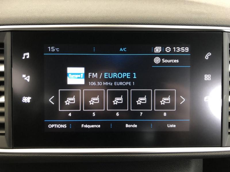 Peugeot 308 SW 1.5 BLUEHDI 130CH S&S GT LINE EAT8 7CV Blanc occasion à FENOUILLET - photo n°6