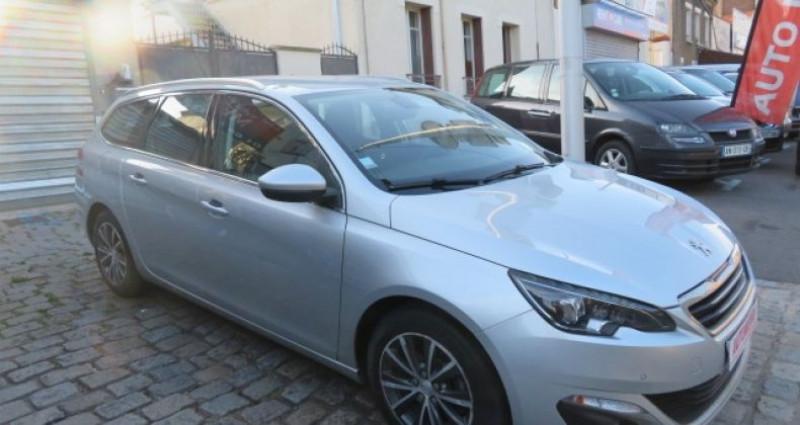 Peugeot 308 SW 1.6 BLUEHDI 120CH ALLURE S&S EAT6 Gris occasion à Juvisy Sur Orge - photo n°3