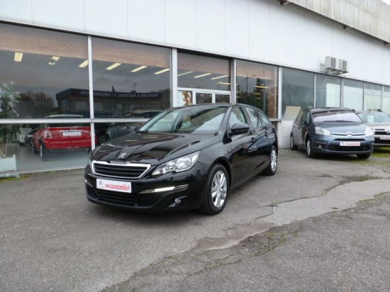 Peugeot 308 SW 1.6 HDI FAP 92CH ACTIVE Noir occasion à TOULOUSE