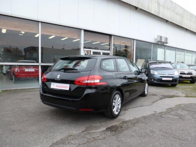Peugeot 308 SW 1.6 HDI FAP 92CH ACTIVE Noir occasion à TOULOUSE - photo n°3