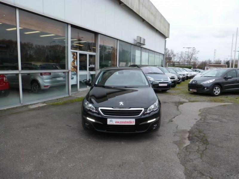 Peugeot 308 SW 1.6 HDI FAP 92CH ACTIVE Noir occasion à TOULOUSE - photo n°12