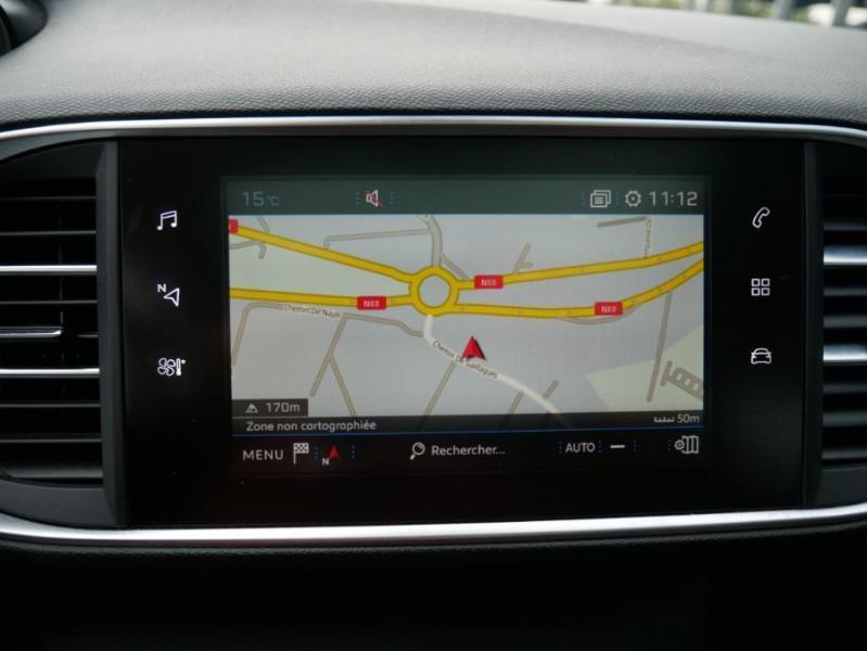 Peugeot 308 SW BlueHDi 130 EAT6 BUSINESS GPS TOIT Pano Noir occasion à Carcassonne - photo n°12