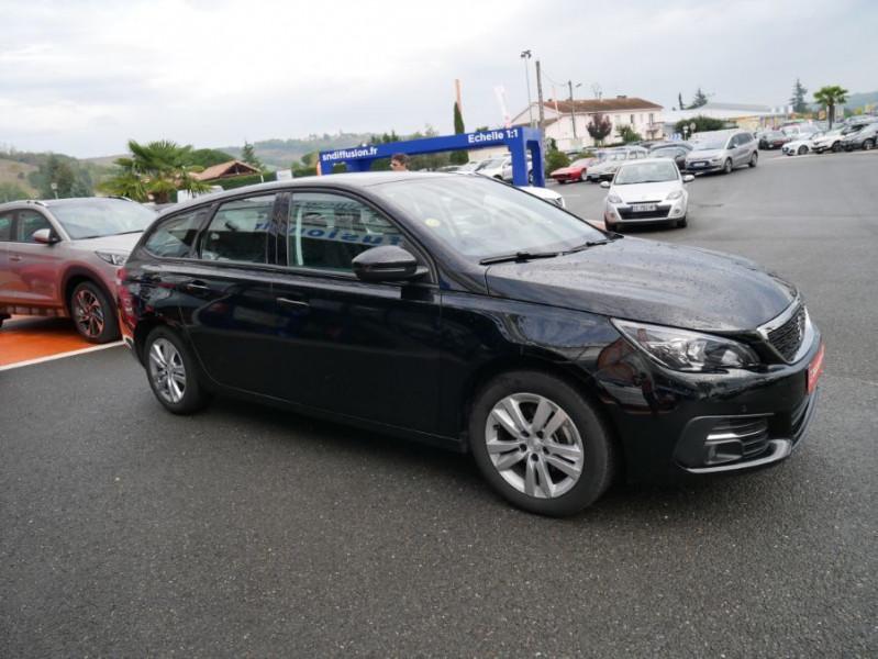 Peugeot 308 SW BlueHDi 130 EAT6 BUSINESS GPS TOIT Pano Noir occasion à Carcassonne - photo n°8