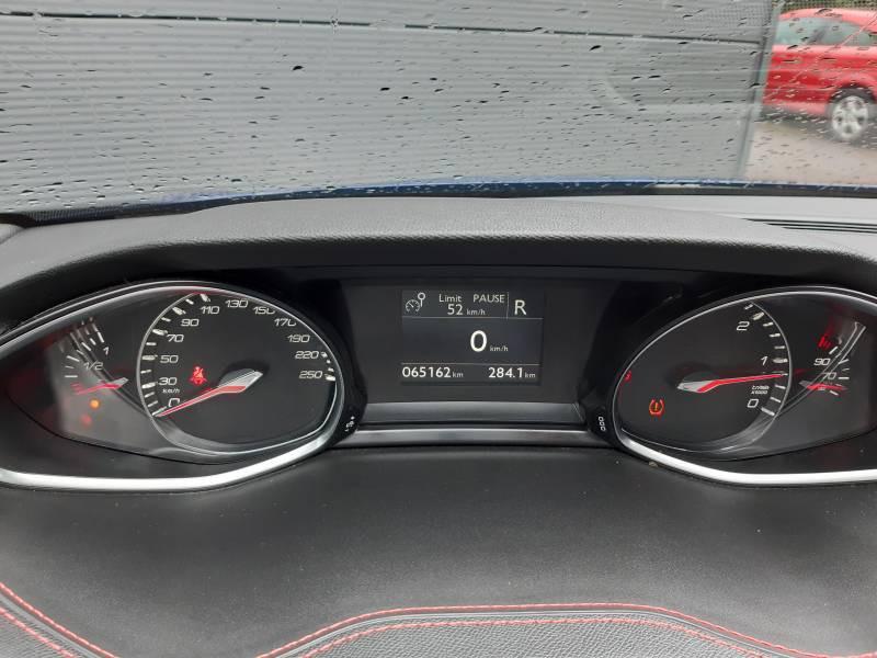 Peugeot 308 SW SW 2.0 BlueHDi 180ch S&S EAT6 GT Bleu occasion à Tulle - photo n°8