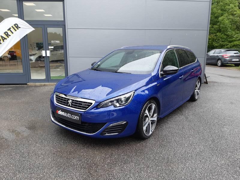 Peugeot 308 SW SW 2.0 BlueHDi 180ch S&S EAT6 GT Bleu occasion à Tulle