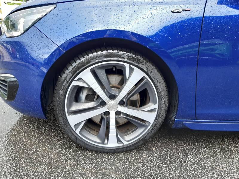 Peugeot 308 SW SW 2.0 BlueHDi 180ch S&S EAT6 GT Bleu occasion à Tulle - photo n°4