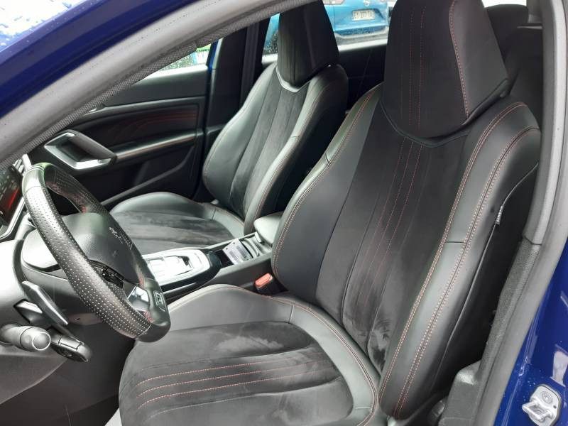 Peugeot 308 SW SW 2.0 BlueHDi 180ch S&S EAT6 GT Bleu occasion à Tulle - photo n°13
