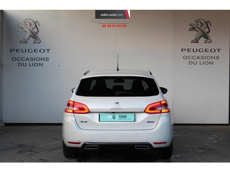 Peugeot 308 SW SW BlueHDi 130ch S&S EAT8 GT Line Blanc occasion à Saint-Pierre-du-Mont - photo n°4
