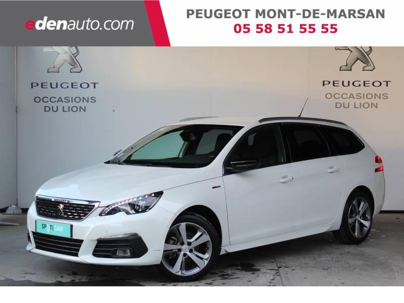 Peugeot 308 SW SW BlueHDi 130ch S&S EAT8 GT Line Blanc occasion à Saint-Pierre-du-Mont