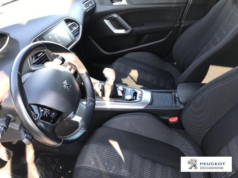 Peugeot 308 1.2 Puretech 110ch Allure S&S 5p Gris occasion à CASTRES - photo n°9
