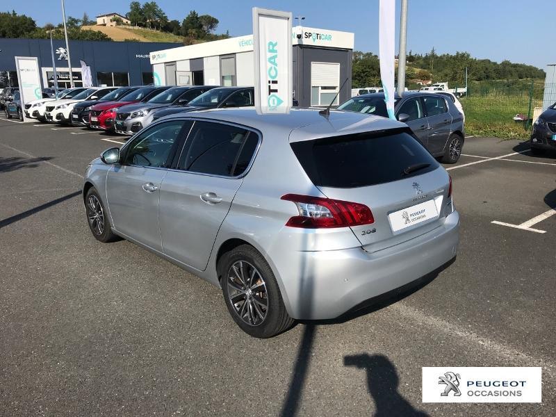 Peugeot 308 1.2 Puretech 110ch Allure S&S 5p Gris occasion à CASTRES - photo n°18