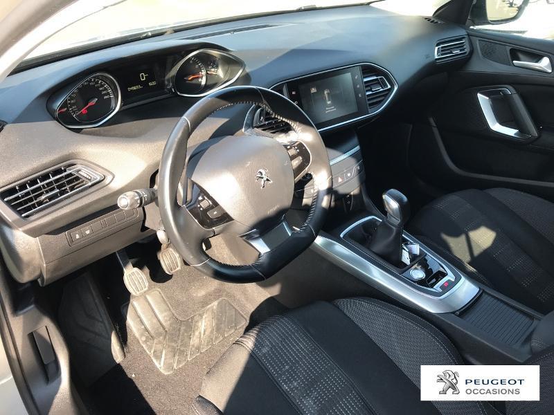 Peugeot 308 1.2 Puretech 110ch Allure S&S 5p Gris occasion à CASTRES - photo n°8