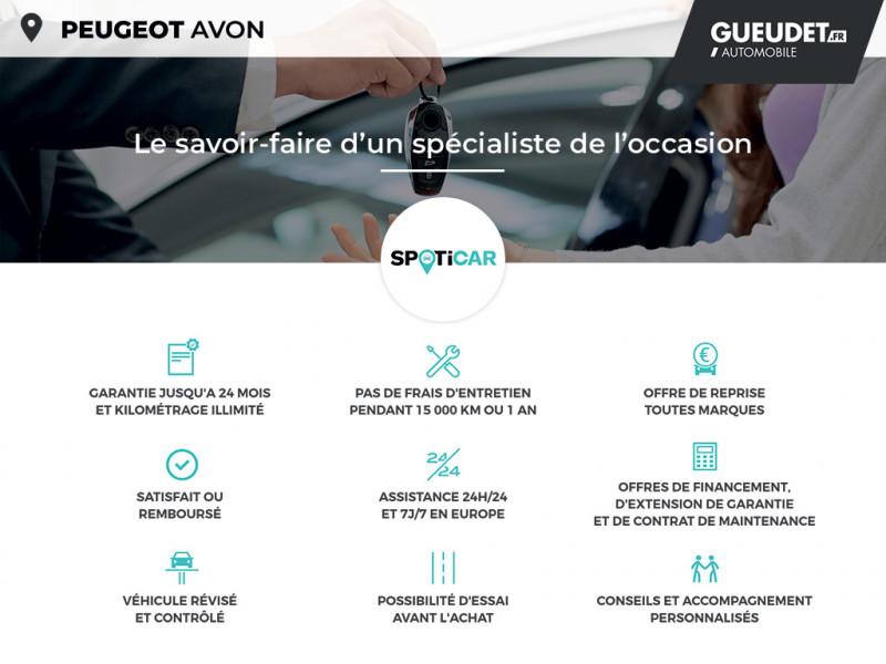 Peugeot 308 1.2 PureTech 130ch S&S Allure EAT6 Gris occasion à Avon - photo n°20