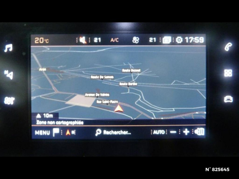 Peugeot 308 1.2 PureTech 130ch S&S Allure EAT6 Gris occasion à Avon - photo n°14