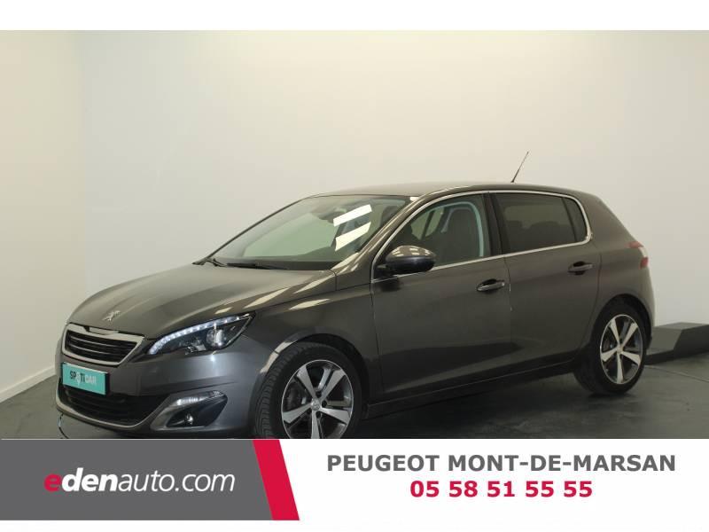 Peugeot 308 1.2 PureTech 130ch S&S BVM6 Féline Gris occasion à Saint-Pierre-du-Mont
