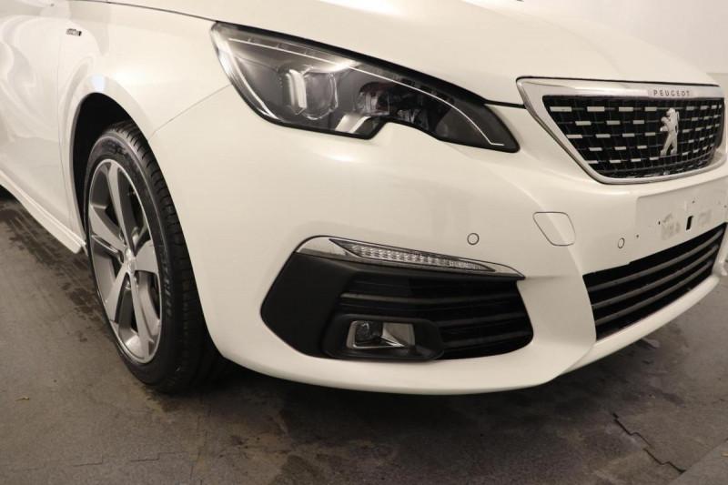 Peugeot 308 1.2 puretech 130ch s&s eat8 gt line Blanc occasion à Toulouse - photo n°8