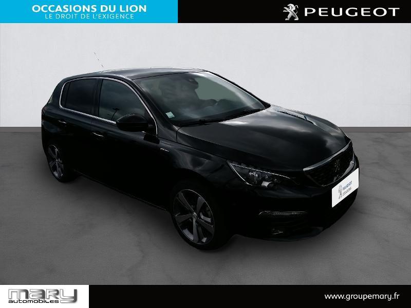 Peugeot 308 1.2 PureTech 130ch S&S GT Line 7cv Noir occasion à Vire - photo n°3