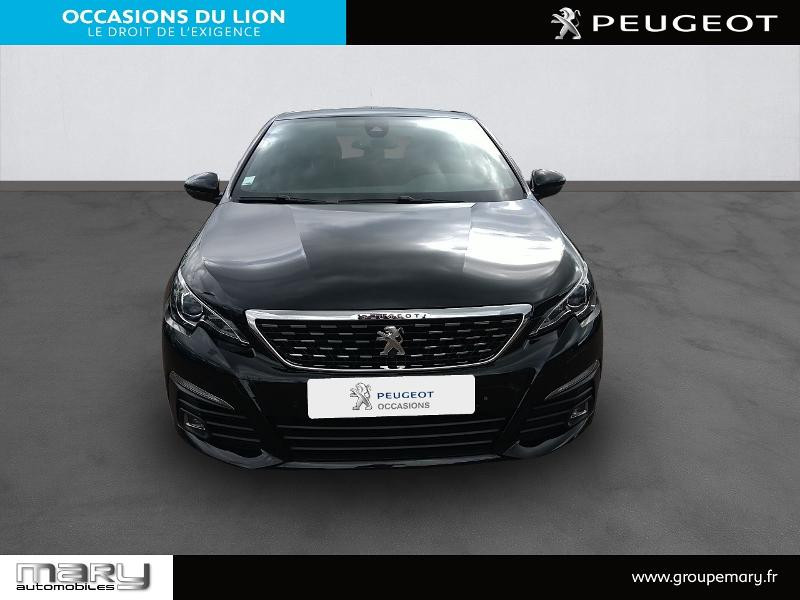 Peugeot 308 1.2 PureTech 130ch S&S GT Line 7cv Noir occasion à Vire - photo n°2