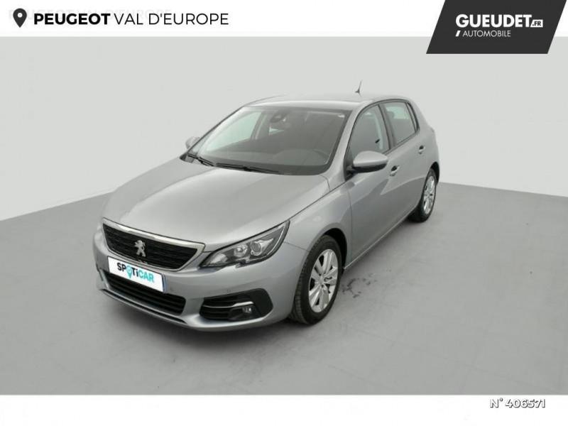 Peugeot 308 1.5 BlueHDi 100ch E6.c S&S Active Business Gris occasion à Montévrain