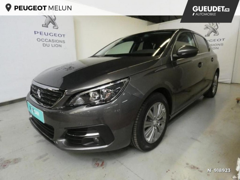 Peugeot 308 1.5 BlueHDi 130ch S&S Allure 7cv Gris occasion à Cesson