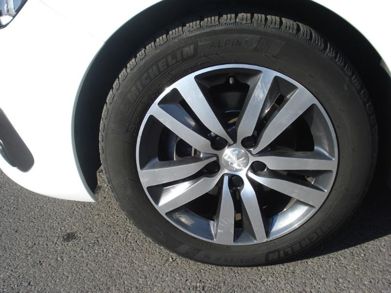 Peugeot 308 1.5 BlueHDi 130ch S&S Allure Business EAT6 Blanc occasion à Aurillac - photo n°17