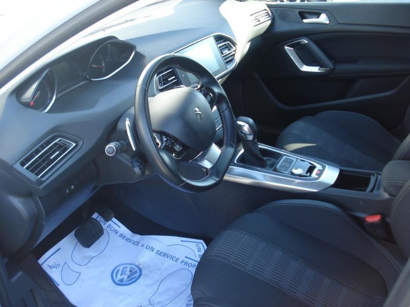 Peugeot 308 1.5 BlueHDi 130ch S&S Allure Business EAT6 Blanc occasion à Aurillac - photo n°13