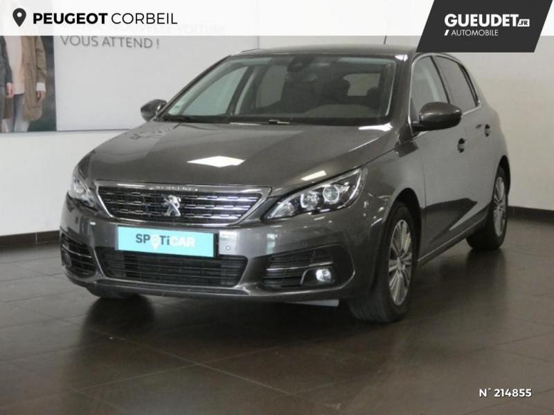 Peugeot 308 1.5 BlueHDi 130ch S&S  Allure EAT8 7cv Gris occasion à Corbeil-Essonnes