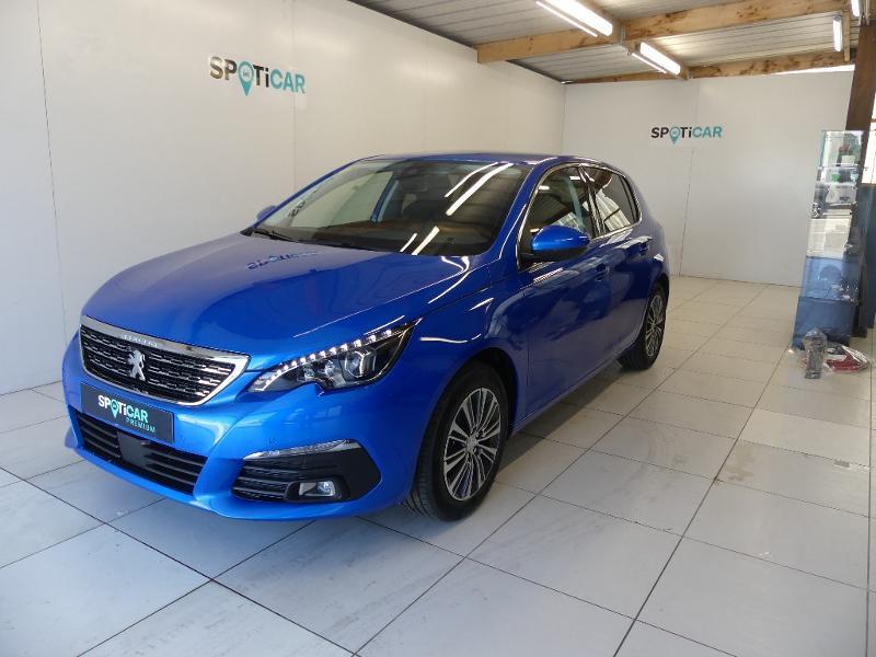 Peugeot 308 1.5 BlueHDi 130ch S&S Allure Pack EAT8 Bleu occasion à Concarneau