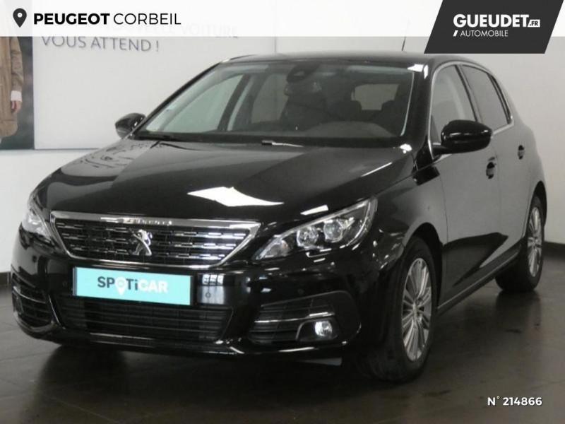 Peugeot 308 1.5 BlueHDi 130ch S&S Allure Noir occasion à Corbeil-Essonnes
