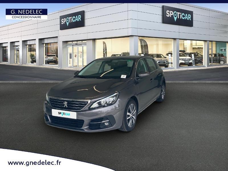 Peugeot 308 1.5 BlueHDi 130ch S&S Allure Gris occasion à Carhaix-Plouguer