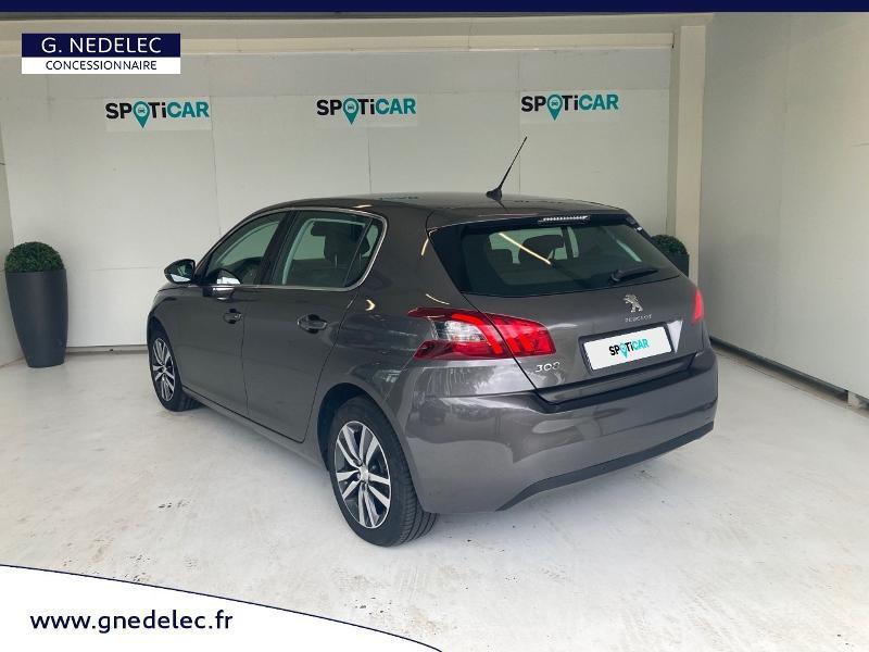Peugeot 308 1.5 BlueHDi 130ch S&S Allure Gris occasion à Carhaix-Plouguer - photo n°7