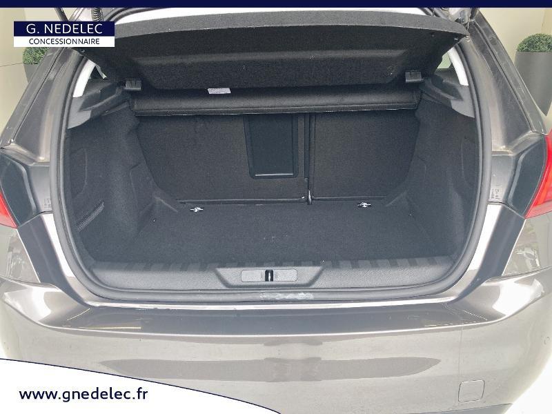 Peugeot 308 1.5 BlueHDi 130ch S&S Allure Gris occasion à Carhaix-Plouguer - photo n°6