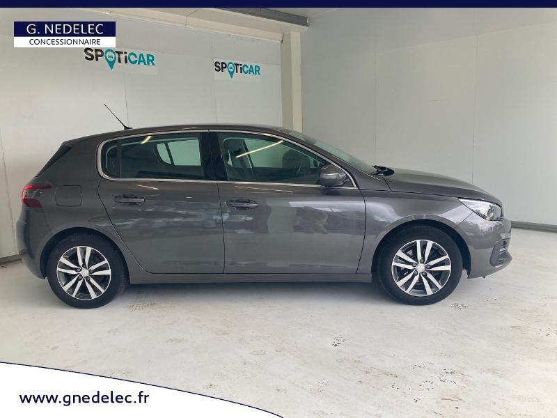 Peugeot 308 1.5 BlueHDi 130ch S&S Allure Gris occasion à Carhaix-Plouguer - photo n°4