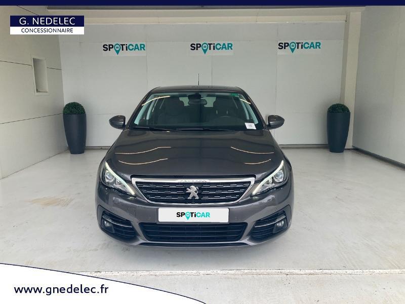 Peugeot 308 1.5 BlueHDi 130ch S&S Allure Gris occasion à Carhaix-Plouguer - photo n°2